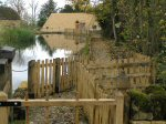 Stanway Watermill.  Opened by H.R.H Prince Of Wales, October 09